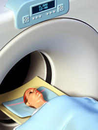 Could you explain what is getting a CT scan like?