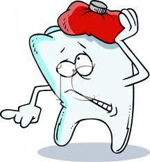 What causes toothache?