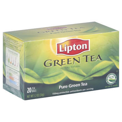 What are the pros and cons of lipton green tea?