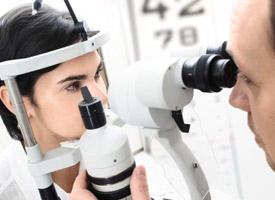 How do doctors find out if you have cataracts? I have not been to the eye doctor in three years, and over that time I have become progressively more nearsighted. Now, my prescription glasses do not even seem to be helping me. I am afraid that I may be get
