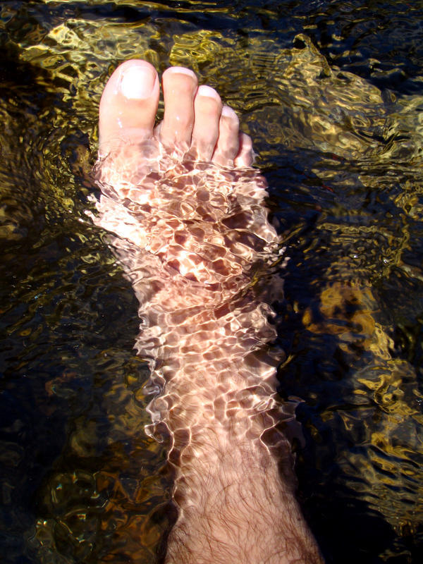 My entire foot is still ice cold most of the time, what's wrong? My doctor isn't concerned.