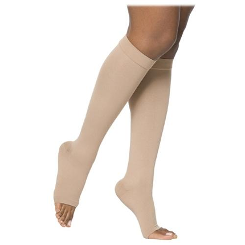 Pitted edema both legs, no DVT should I wear support stockings all times, & are calf only supp. Compression sleeves as good as toe to upper calf sock?
