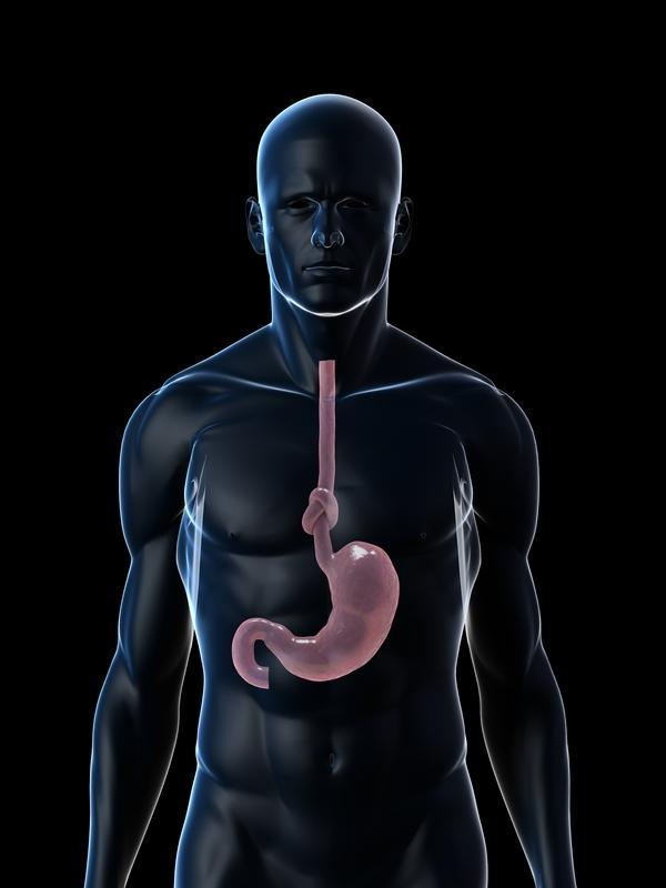 Signs of a person who has gastritis?