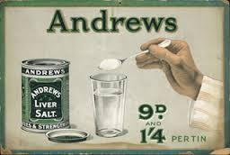 What is the effect of andrews liver salt?