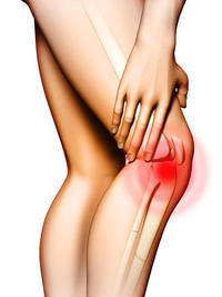 Knee sprain, can't bend knee all the way due to pain. How can I walk?