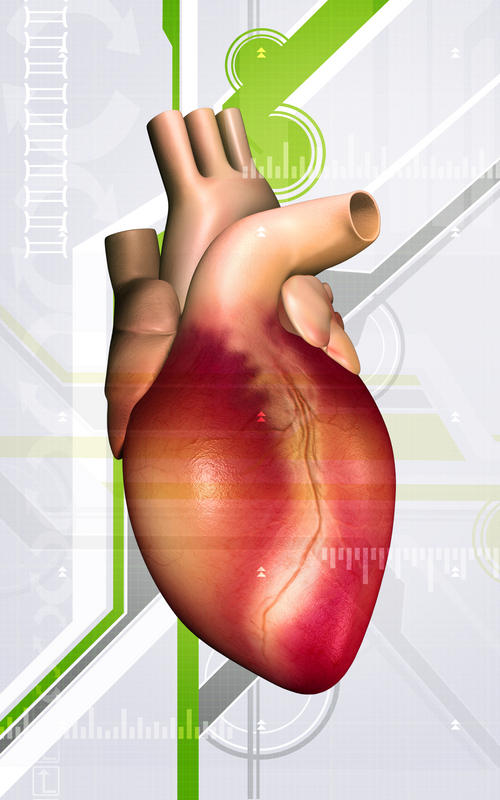 Could a cta chest scan with IV contrast detect problems with the heart?