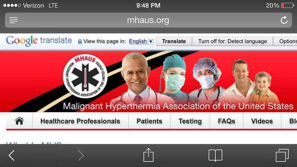 If I have malignant hyperthermia , is there any sedatives i need to avoid?