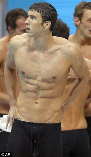 How can I get a sixpack by doing swimming, specific abs exercises and changing my diet?