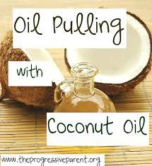 Does coconut oil pulling help? And what does it help?And what are side effects?