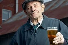 My father is 69 yo and his uric acid is 6.5 he takes medication to keep it down. However he drinks beer and refuses to stop. What the worse to happen?