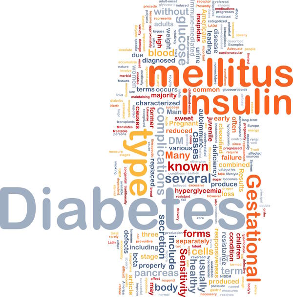 Can you tell me how doctors tell the difference between type 1 diabetes and type 2?