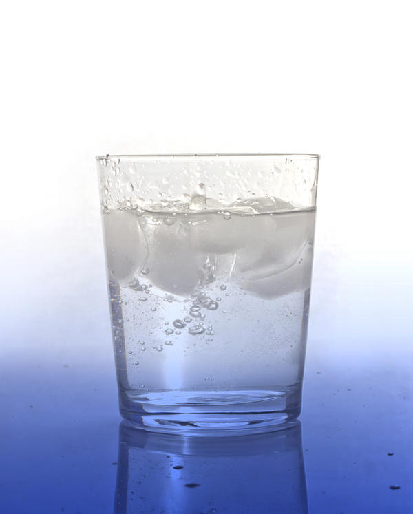 What can happen to the brain over time if you don't drink water?
