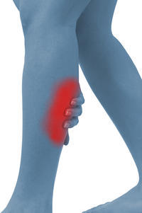 What can cause someone to have chronic leg stiffness and pain?