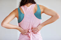 What causes hip and low back pain with these symptoms: shoulder and neck continuous pain and cracking?