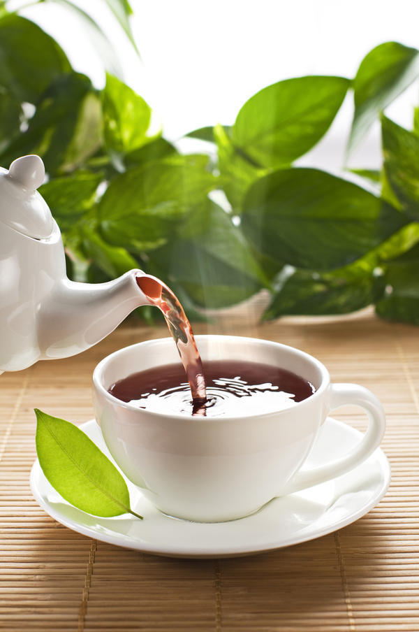 Does drinking green tea reduce negative thinking & stress?