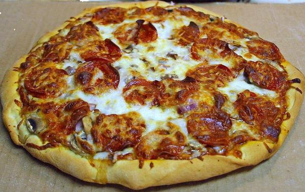 I am 12 weeks pregnant & was wondering if the fontina cheese on my pizza is safe to eat. It says it's pasteurized.?