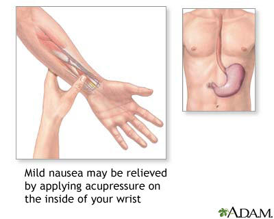 How to control nausea in pregnancy?