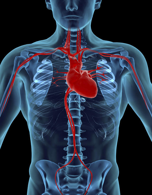 When i lie in bed on my left side and i place my hand on my chest i feel my heartbeat between my ribs is this normal?