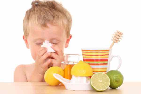 Home remedies for a cough and runny nose in a 2 year old?