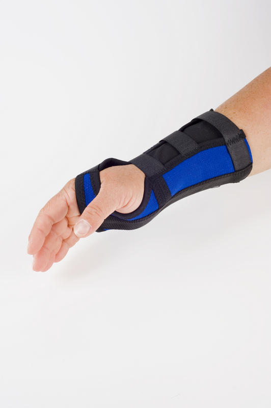 When I move my wrist I get a sharp pain and it hurts, I have been wearing a brace over my wrist, it helps but when I take it off it hurts?