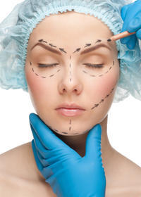 How many hours does a surgeon deed to perform a neck lift, face lift and lower eyelid blepharoplasty?