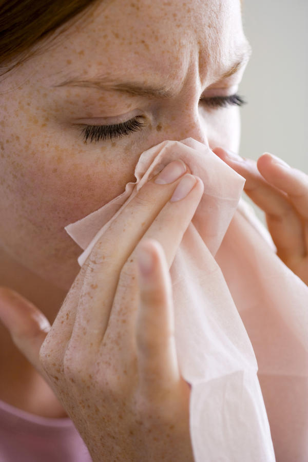Can I take Mucinex (guaifenesin) for sinusitis? If not is there any other over-the-counter medicine alternative to clindomycin?