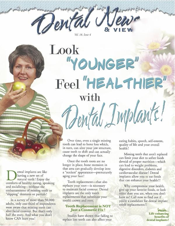 What will happen if I don't get a dental implant?