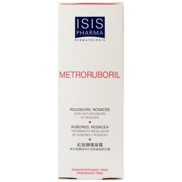 Does isis pharma metroruboril relieve facial redness ?