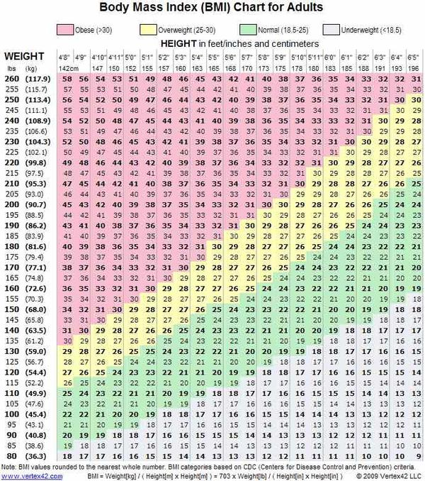 What Size Am I Based On Height And Weight Heartpulsar