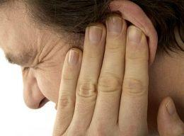 What causes ear pain from sleeping on ear?