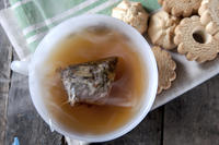 Is tea bag immersed in hot water for infusion is bad for health ?