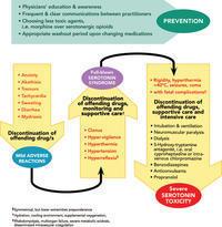 How is serotonin syndrome treated?