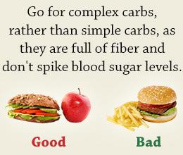 How can decrease sugar in my body?