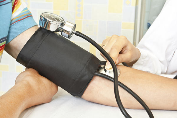 Is 134/104 high blood pressure for a 15 year old girl ?