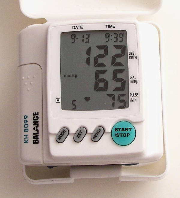Can a high INR reading affect blood pressure?