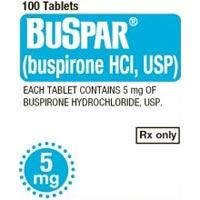 Was buspar (buspirone) 3x day - 15 mg total.  caused bad twitching of the muscles & limb jerking.  How long will this side effect last after getting off the med!