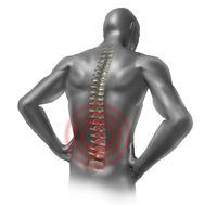 Is there an at home cure for tenderness in your spine? It's particulary sore when I try to sit up, painkillers are useless