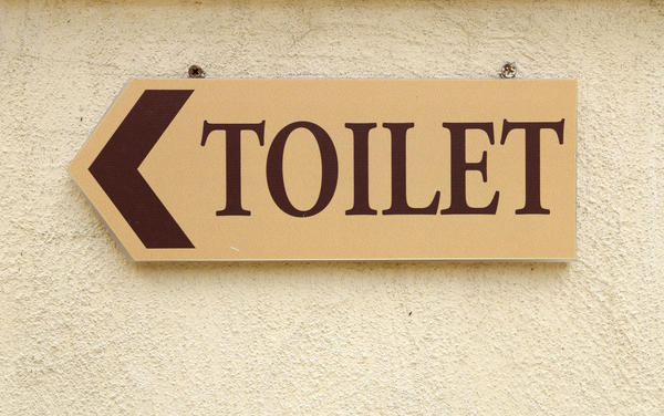 What gives you cold chills when you poop?