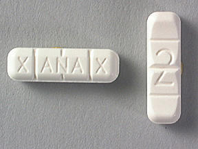 I'm prescribed xanax (alprazolam) 10mg the yellow bar pill can't take a whole one can I take a piece n still get the same affect?