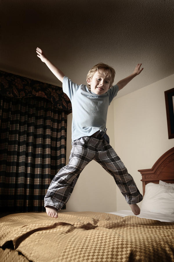 What can I do with my boy that's hyperactive?