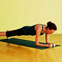 What particular exercises can help me gain muscle mass in my abdominals?