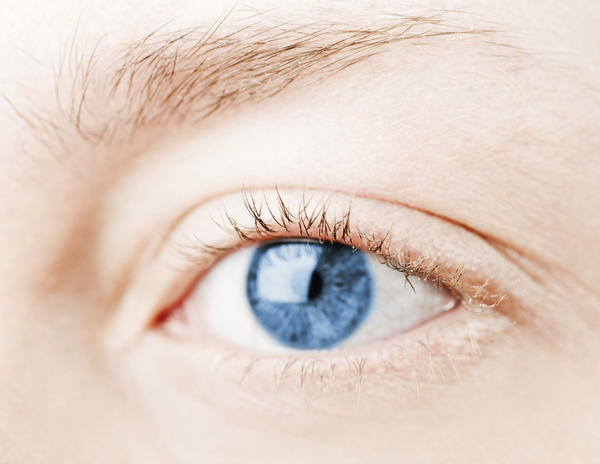 What can cause pain along the ridge of my eye?