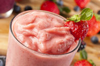 Help please! is fruit put into a powerful blender to make a smoothie good for diabetics?