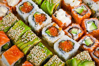 I love sushi, can I get salmonella from raw fish?