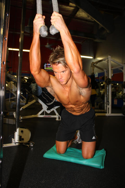 How to exercise abdominal muscles to point so that your abs show?