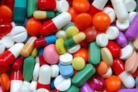 Are there any drug interactions with Vyvanse (lisdexamfetamine) and azithromycin?