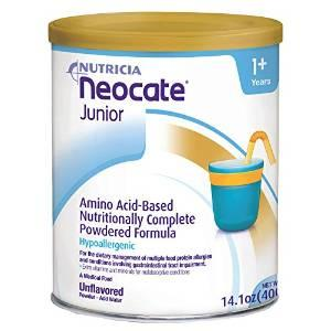 My son has 14 m old,we changed his formula .He Has allergy from milk and soy and nuts now on Nutramigen and he is throwing up after feeding.Any other?
