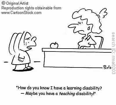What can someone with a learning disability do in life?
