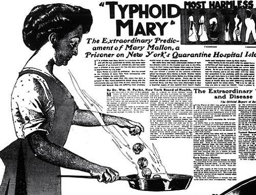 If you didn't get typhoid vaccine, and caught typhoid on your travels, what would your symptoms be?