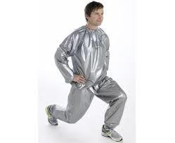 Is it safe to use a sauna suit twice a week for weight loss?
